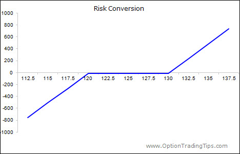 Risk Conversion Option Strategy